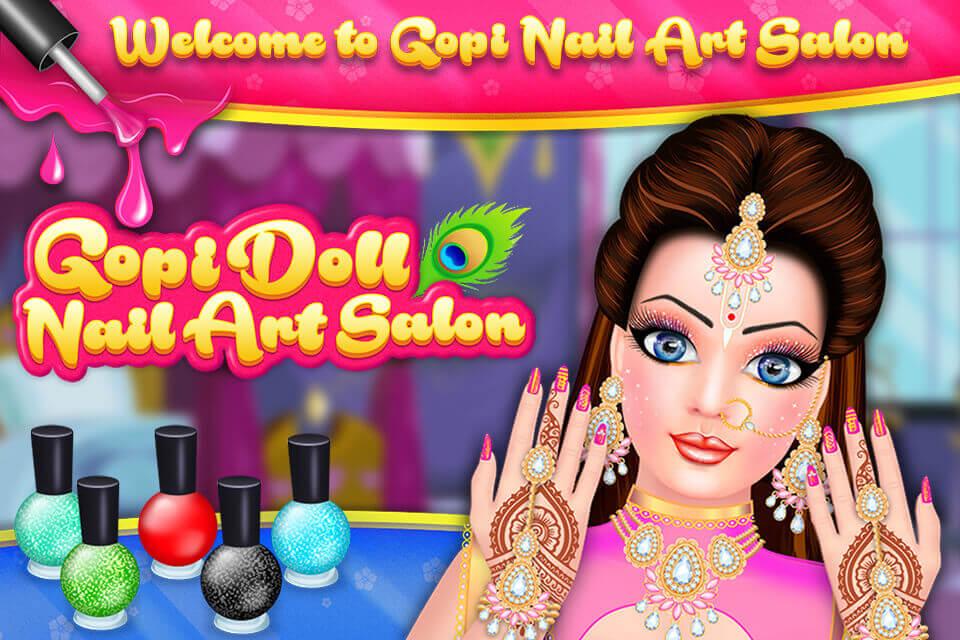 Gopi Doll - Nail Art Salon