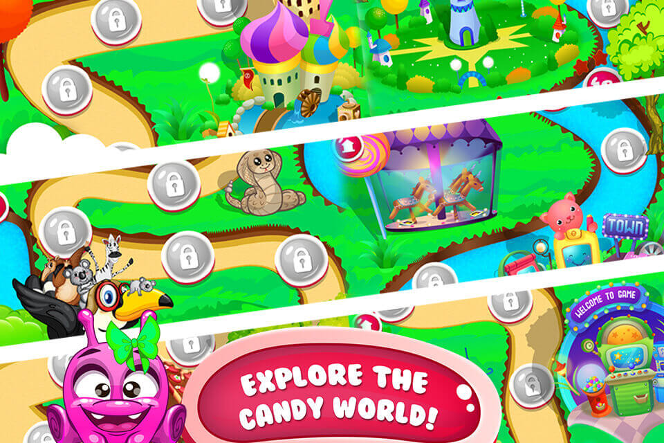 Candy World - Ultimate Tap & Blast Game